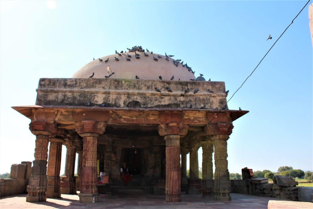Harshat Mata Temple near Chand Baori Stepwell in Abhaneri