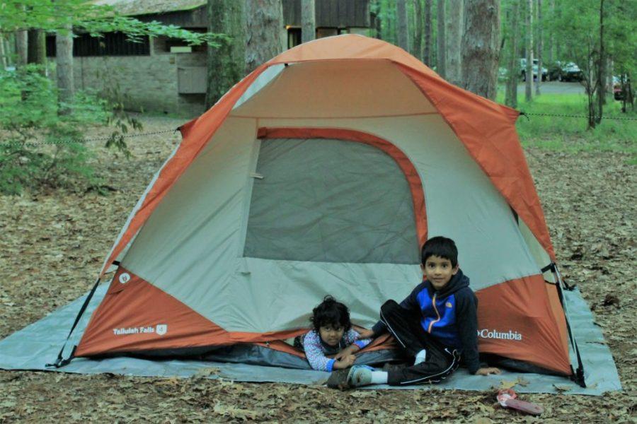 Camping at Watkins Glen State Park Camping Tent