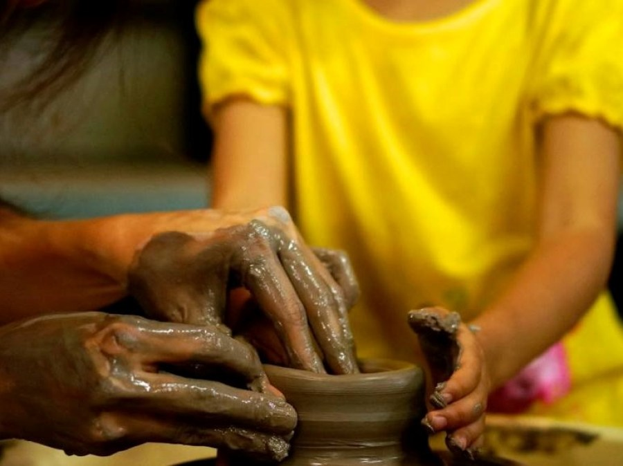 Best places to visit in Singapore with kids Thow Kwang Pottery Jungle