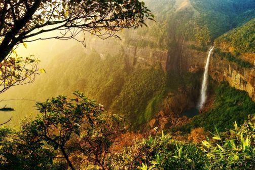 Nohkalikai Falls Tragically Beautiful Waterfall in Meghalaya Travel Melodies