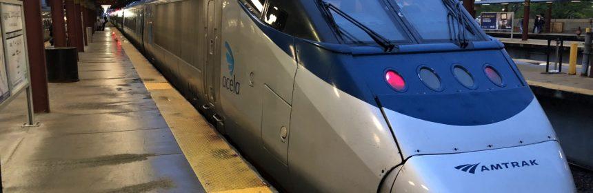 Acela Express First Class