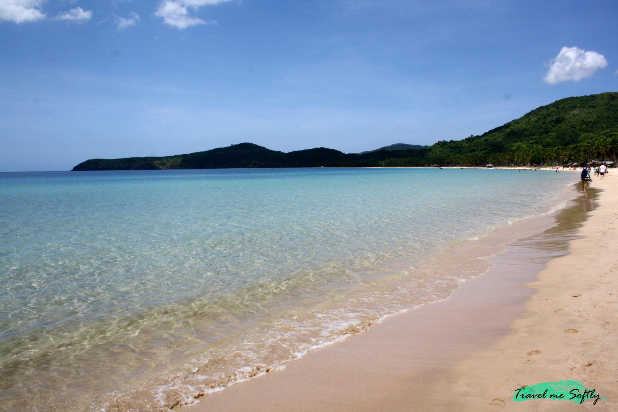 Nacpan Beach qué hacer en El Nido