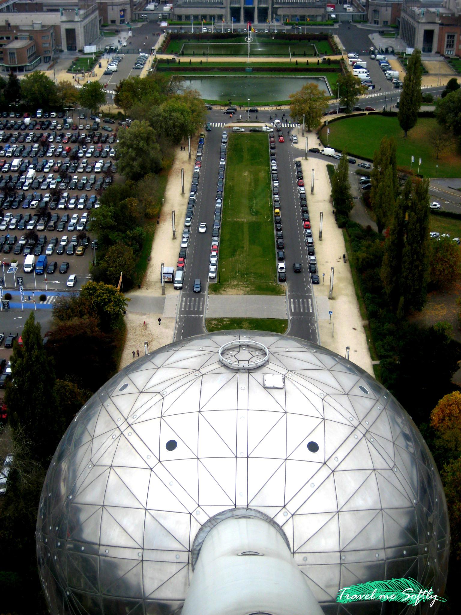 Bruselas desde Atomium