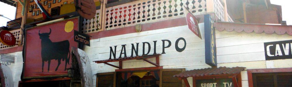 Nandipo bar, un rincón español en Nosy Be