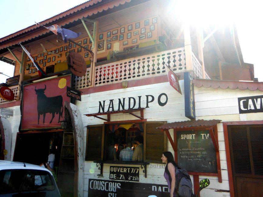 Nandipo bar isla de Nosy Be