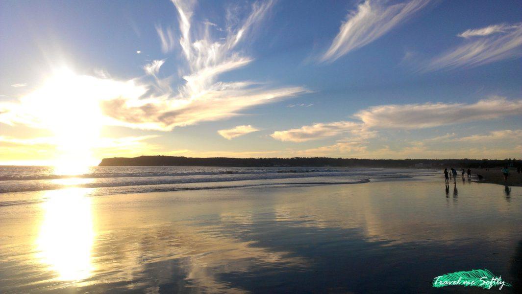 San Diego beach viajar a estados unidos