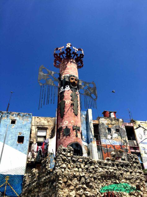 Escultura orisha callejón de hamel