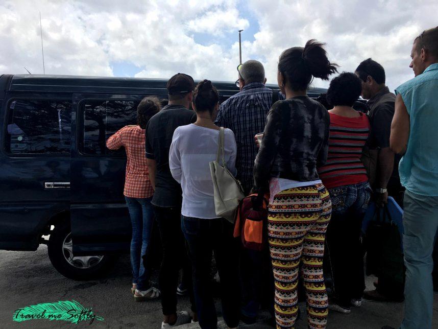 taxi colectivo para ir de Varadero a La Habana