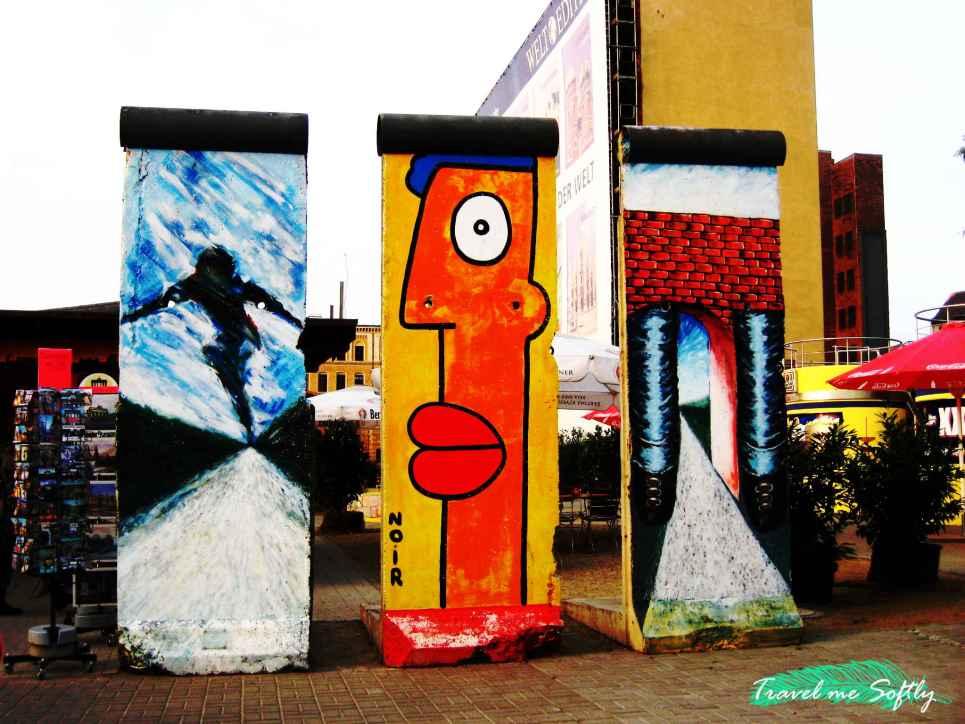 arte y muro de Berlín