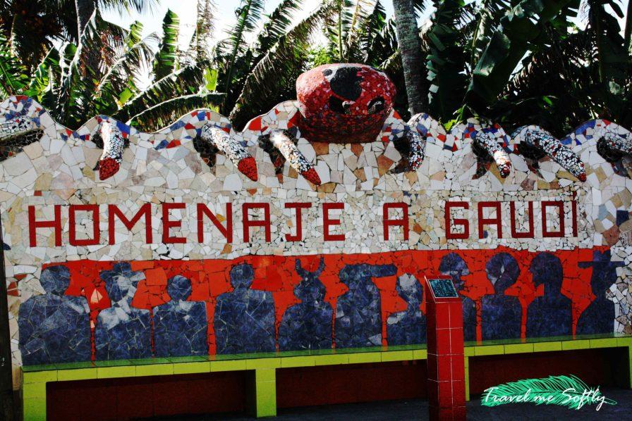 homenaje a Gaudí Fusterlandia
