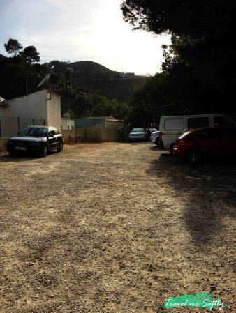 parking playa de la granadella