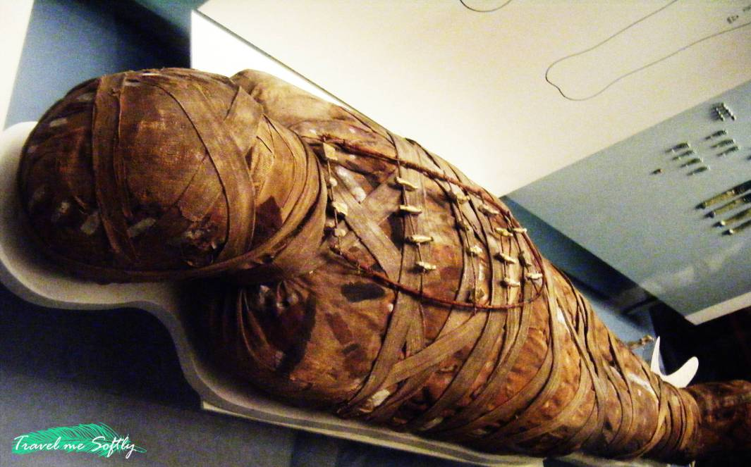 momia viajar a Londres