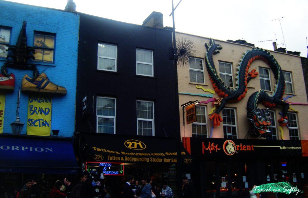 Camden market viajar a londres
