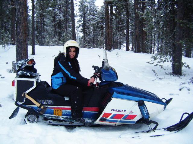 moto de nieve laponia