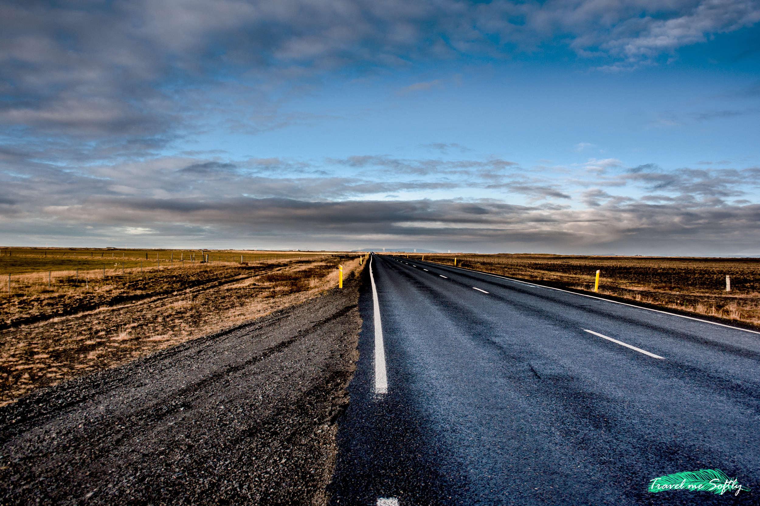 conducir en islandia en invierno