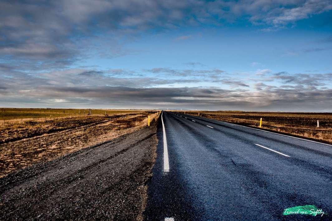 viaje por el sur de islandia carretera