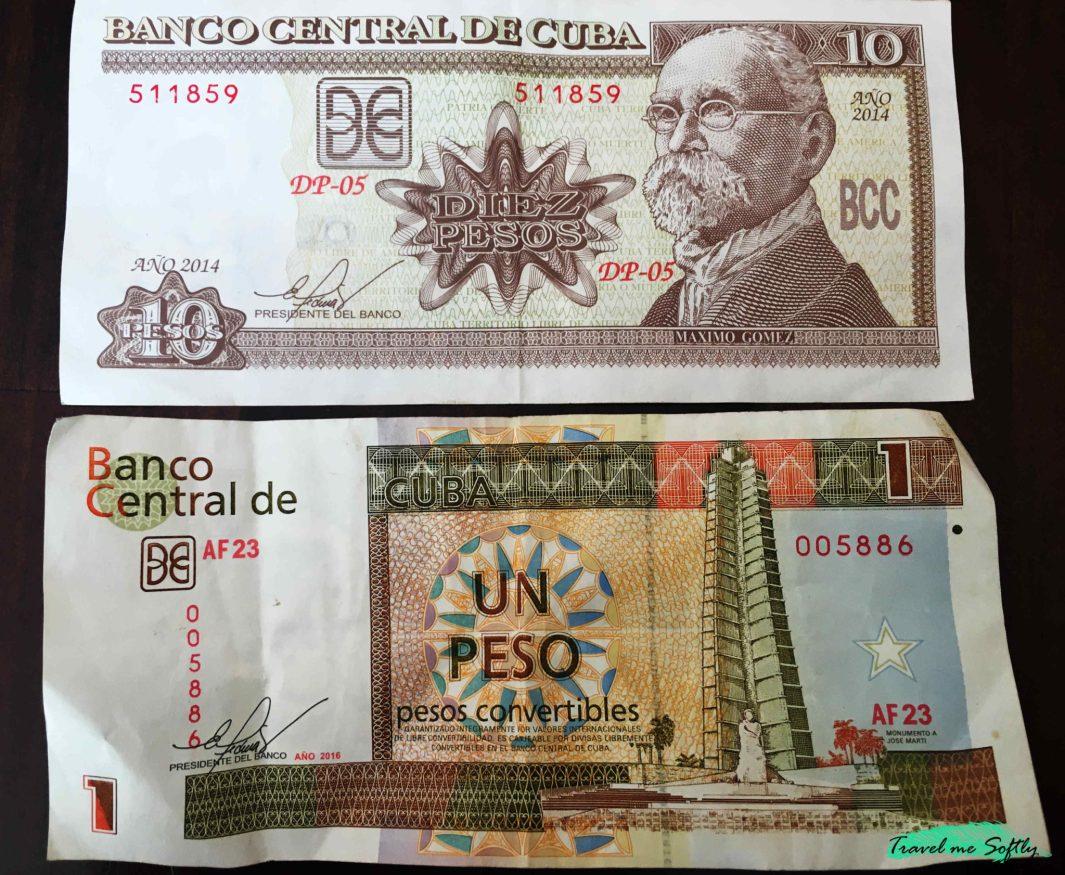 diferencia moneda cubana pesos convertibles cup