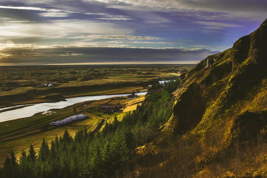 paisaje Klaustur Islandia
