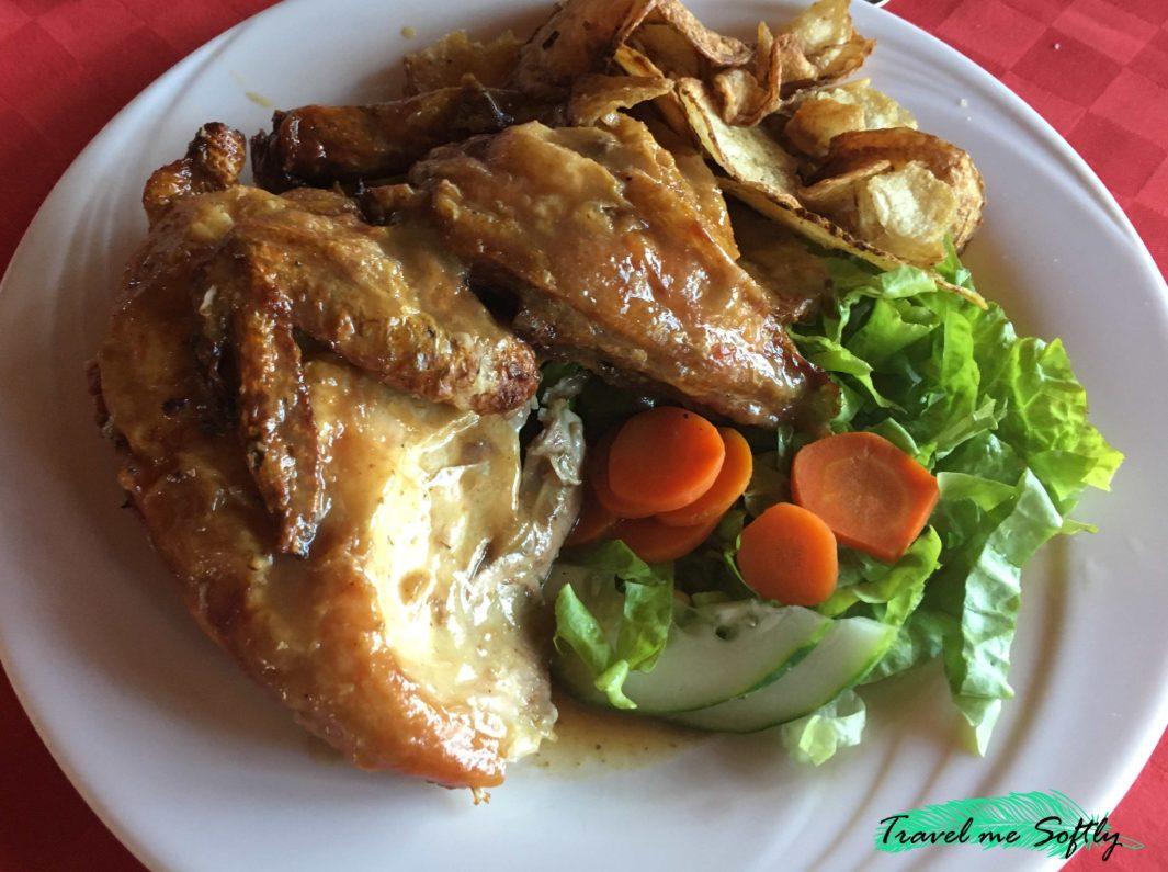 pollo asado gastronomía cubana