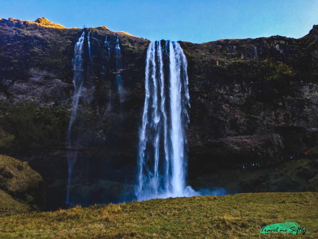 Cascadas de Islandia Seljalandsfoss