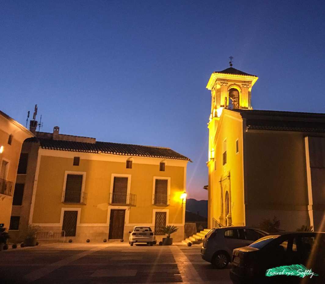 iglesia de la purisima concepcion cehegín