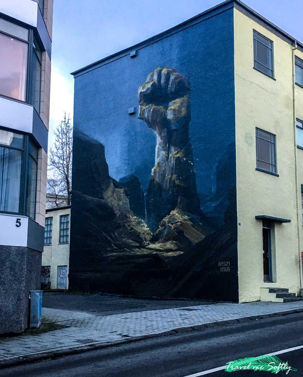 qué hacer en reikiavik street art