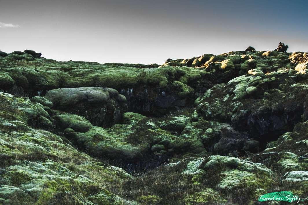 campo de lava imágenes de islandia