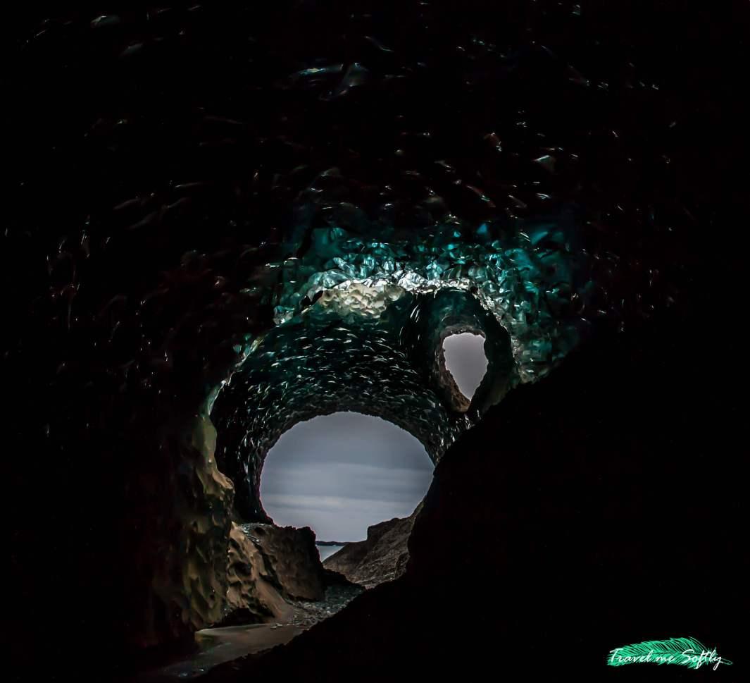 blue ice cave cuevas de hielo imágenes de islandia