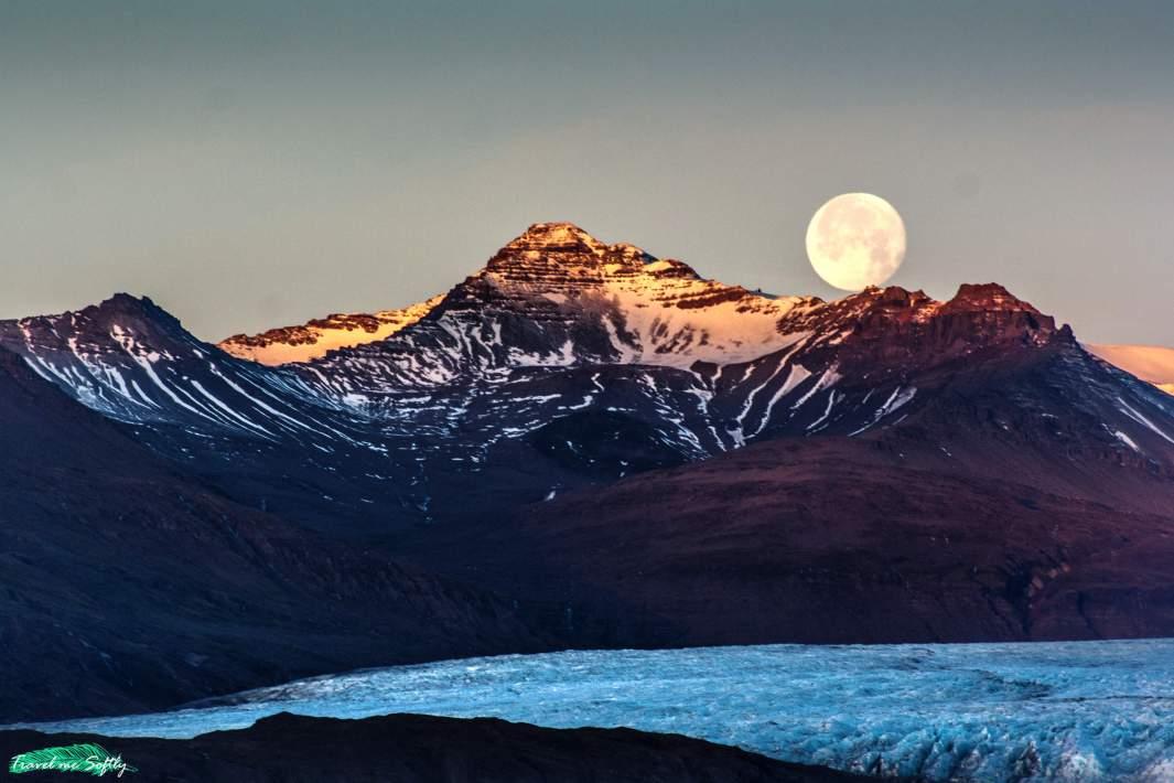 holabrekka amanecer imágenes de islandia