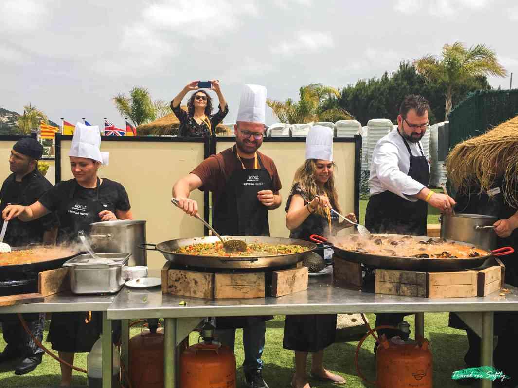 paella evenia resort aniversario de bcntb