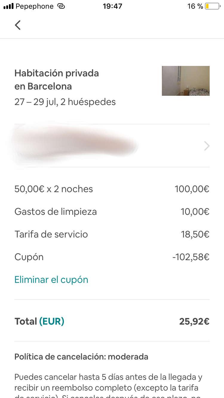 comision estafados en airbnb