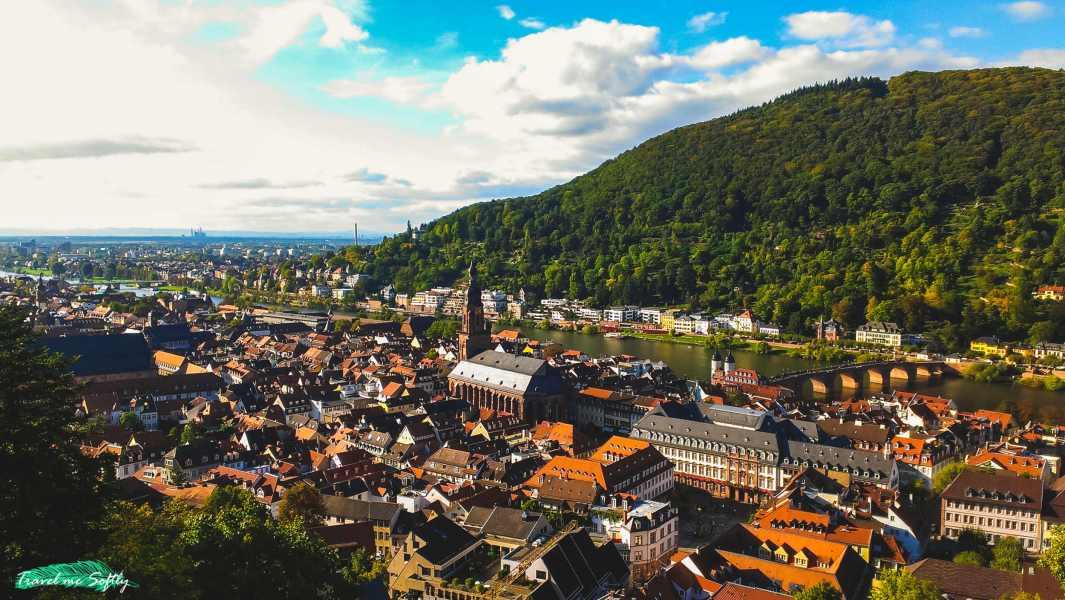 vistas de Heidelberg