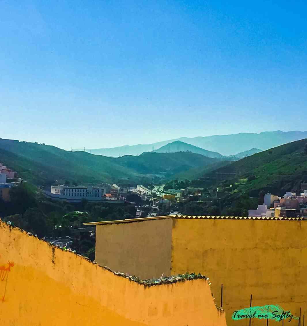 vistas montañas desde san nicolás