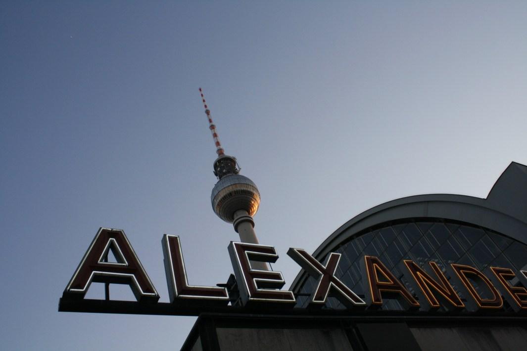 alexanderplatz centro de berlín
