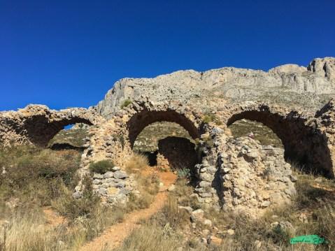 arcos fort de bernia frontal