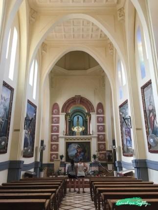 interior del Santuario Santa Maria Magdalena Novelda