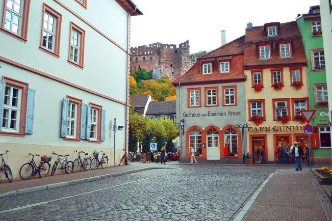 Hauptstrasse heidelberg lateral
