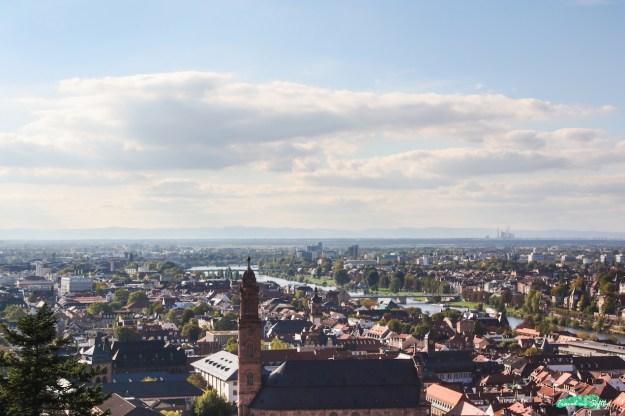 Heidelberg vista desde el castillo