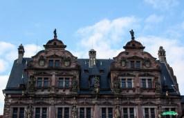 Fachada Friedrichsbau castillo