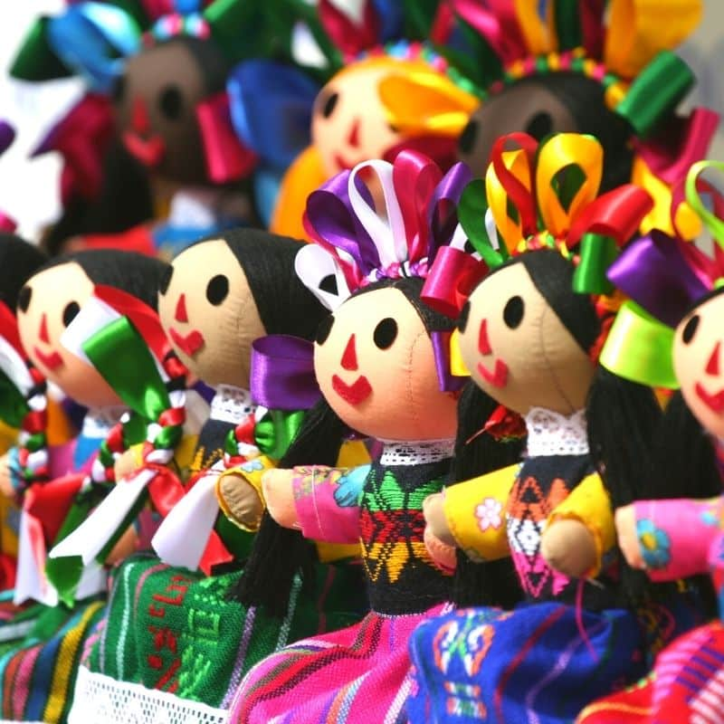 Mexican doll art