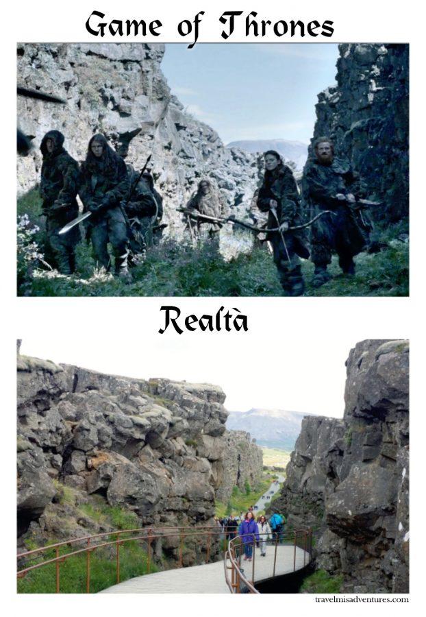 Set Game of Thrones Islanda