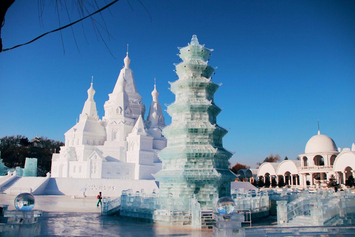 Harbin, la città cinese fatta di ghiaccio