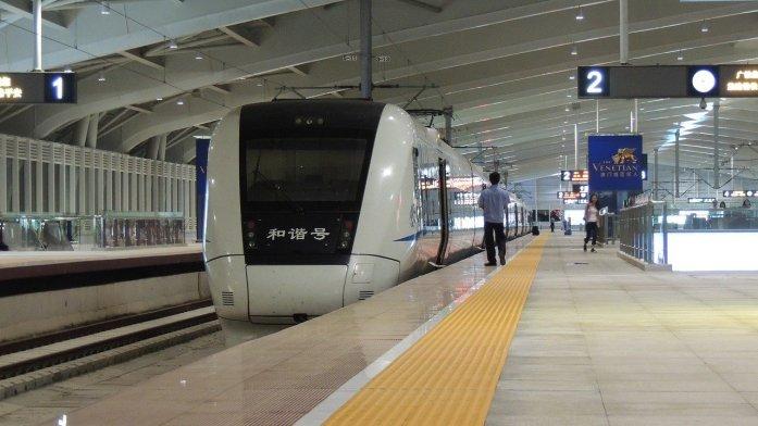 Cina prendere treni