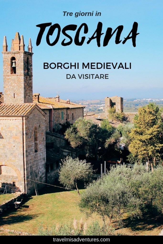 Tre giorni in Toscana cosa vedere borghi medievali (2)
