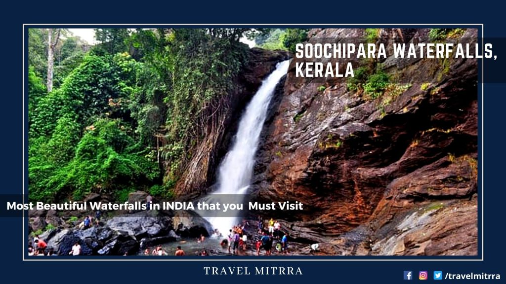 Most Beautiful Waterfalls in India | Soochipara Waterfalls, Kerala | Waterfalls | Kerala Tourism | India Tourism | Travel Mitrra | Blogs by travel mitrra | Travel Mitrra Blogs