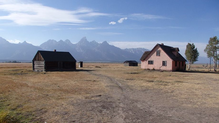 Grand Teton Mormon Row