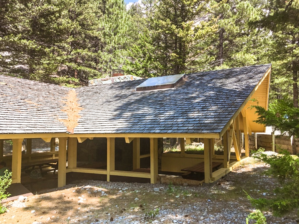 Pavilion at Meriwether Picnic Area