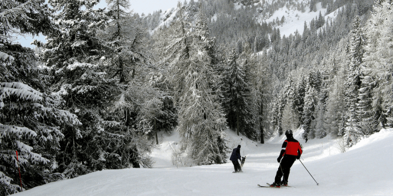 Montana has some of the best skiing in the world.