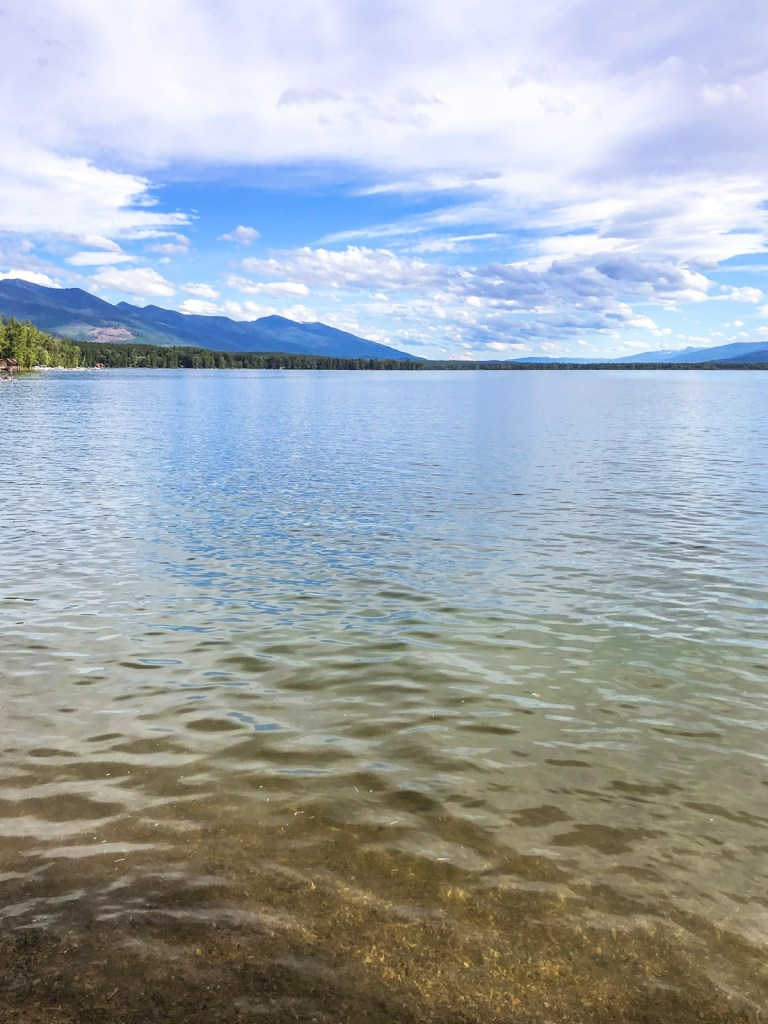 Serene Swan Lake in Montana offers many water activities.