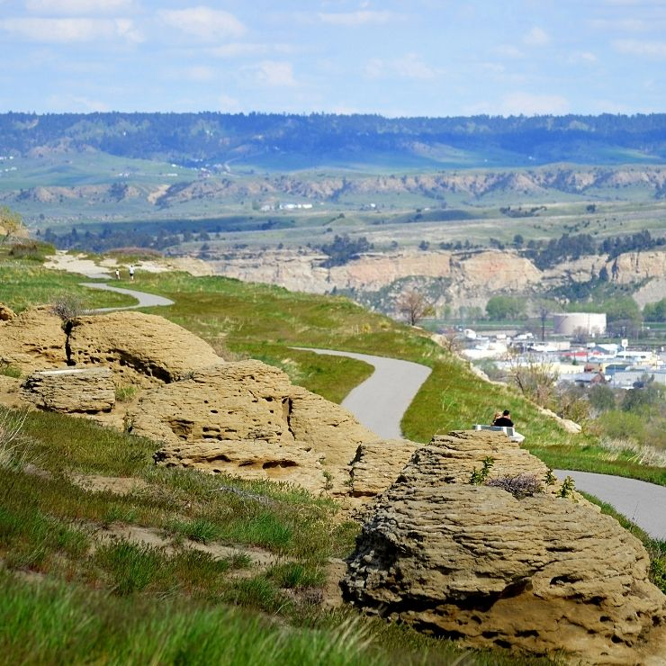 Rimrock Trail in Billings, Montana